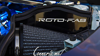 Blue Lightning Custom Chevrolet Camaro ZL1 ROTO-FAB Coldair Intake
