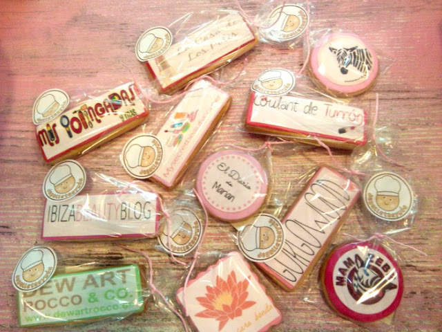 galletas con fondant
