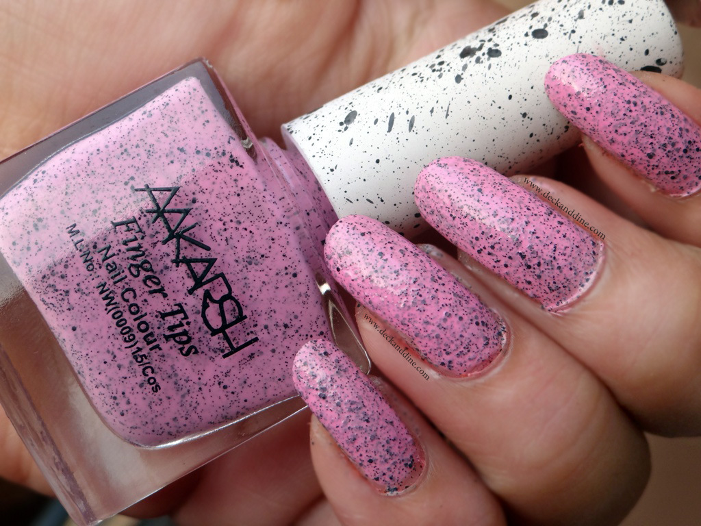 Aakarsh Cookie Crumble Finger Tips Nail Colour Review and NOTD: Dupe ...