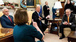 Nancy Pelosi spike up Donald Trump on holy book
