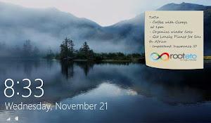 Windows Kilit Ekran Fotoğrafı Değiştirme ve Not Ekleme Uygulaması