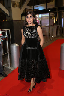 Niveda Thomas Black Sleeveless Cute Dress at 64th Jio Filmfare Awards South 2017 ~  Exclusive 130.JPG