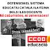 Defensem el sistema educatiu català i la feina dels i les docents