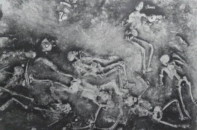 Több ezer éves sugárzó csontvázak Mohendzso Daro-ban