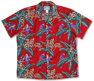 Hawaiian Jungle Bird Shirt Magnum P.I.