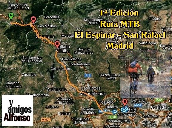 Rutas MTB AlfonsoyAmigos