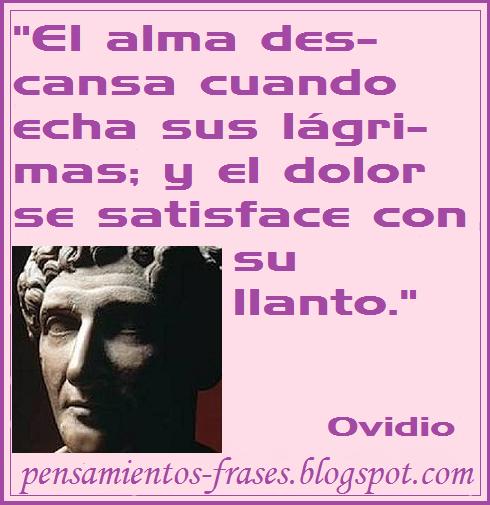 Frases Célebres El Alma Ovidio