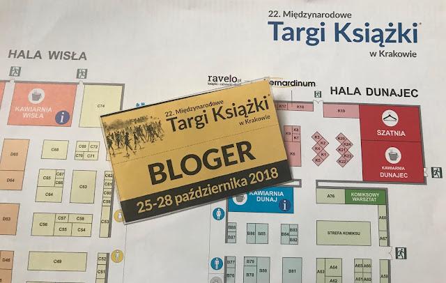 Relacja z 22 Międzynarodowych Targów Książki w Krakowie 25-28.10.2018 r.