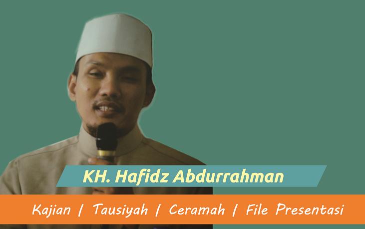 Download Kajian KH. Hafidz Abdurrahman