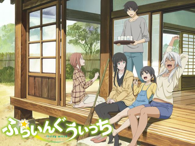 [Review Anime] Flying Witch
