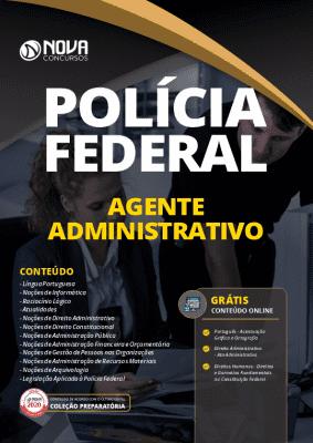 Apostila Concurso Polícia Federal 2020 Agente Administrativo Grátis Cursos Online