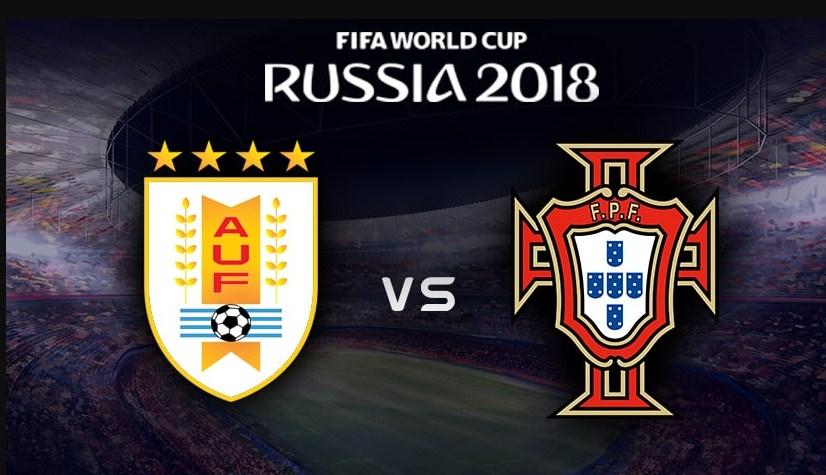 الاوروجواي تطيح بالبرتغال من كأس العالم 2018 , وتصعب حلم الكرة الذهبية لرونالدو