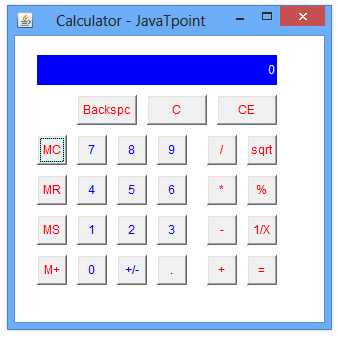 Make a Calculator In Java With Source Code