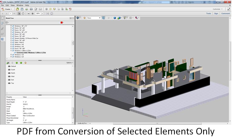 Download 3D PDF Converter For Revit free version - truetfil