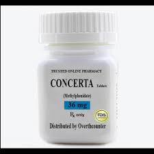 CONCERTA 36 mg Kontrollü Salım Tableti
