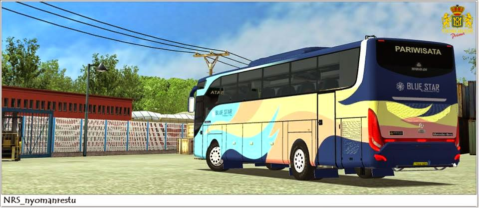 Download Mod Bus Grand Tourismo For UKTS | IFAN BLOG