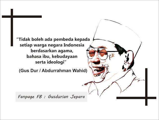 Mengenang Almarhum Presiden Gus Dur dari Puisi Yenny Wahid