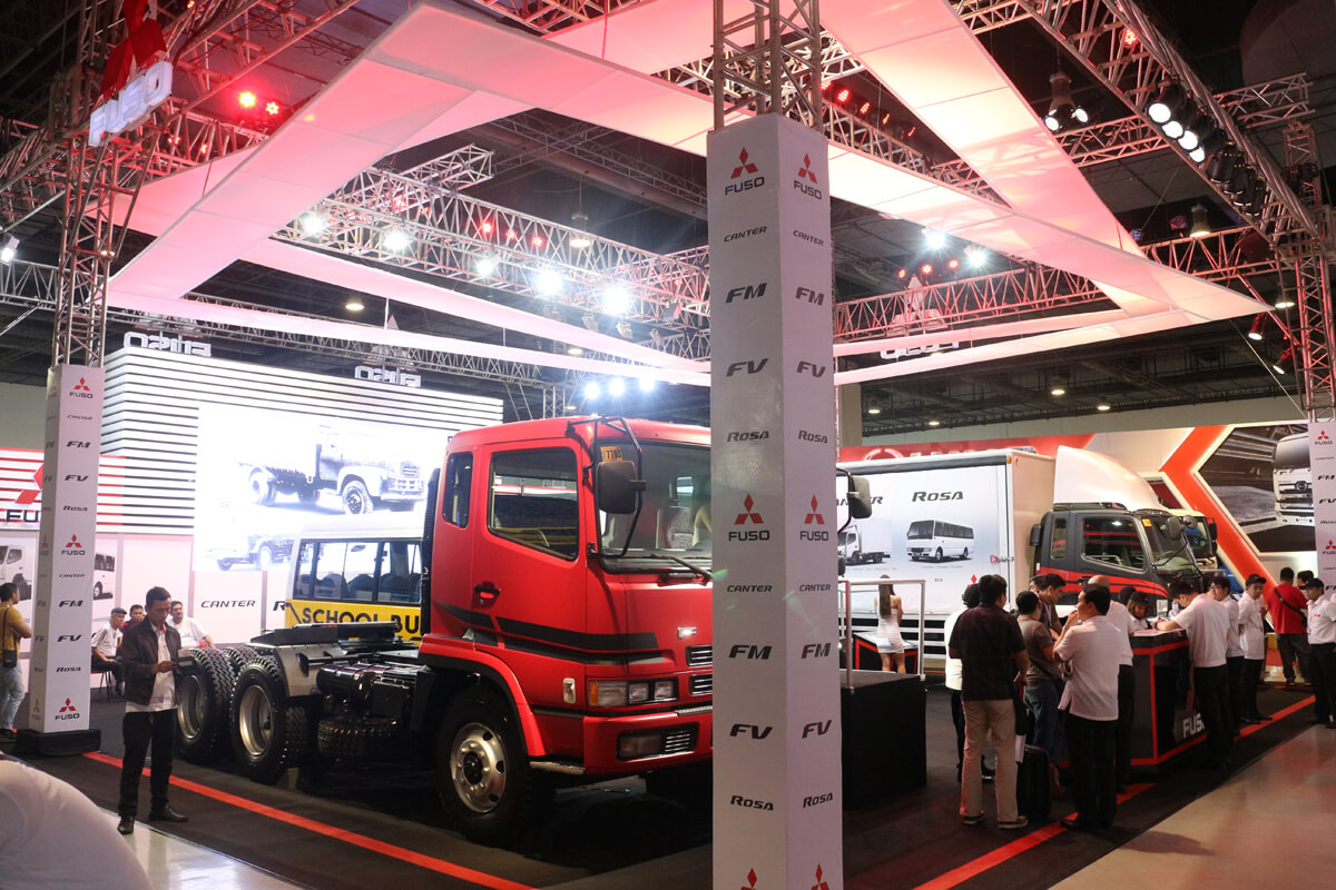 Fuso models highlighted at the Philippine Bus and Truck Show