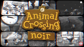 Animal Crossing Noir Art