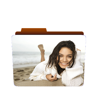 Preview of girl, sand, beach, photoshoot, pose, wallpaper icon