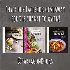 parragon cookbook giveaway