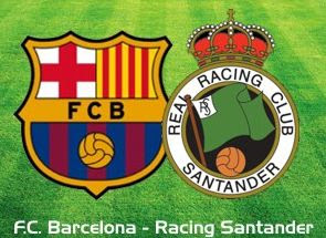 VER PARTIDO FC BARCELONA VS RACING SANTANDER - televisionGoo.com