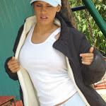 Andrea Rincon, Selena Spice Galeria 33: Gorra Azul, Cachetero Azul Foto 23