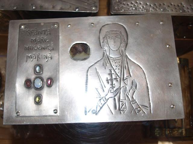 Πρώτη καταγραφή με εικόνες των λειψάνων της Αγίας Μεγαλομάρτυρος Μαρίνας http://leipsanothiki.blogspot.be/