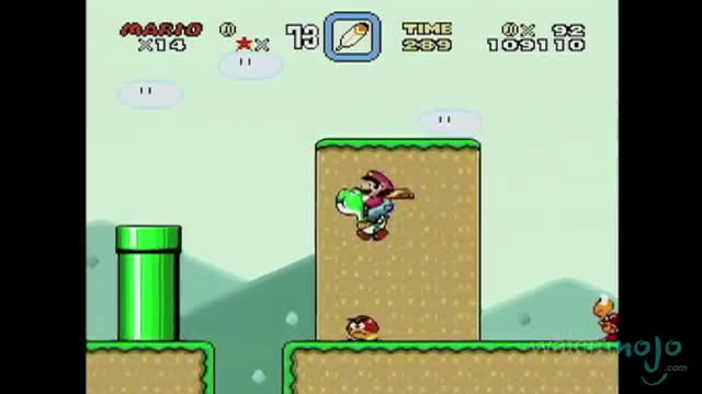 TOP 10 VIDEO GAMES OF ALL TIME 4. Super Mario World (1991)