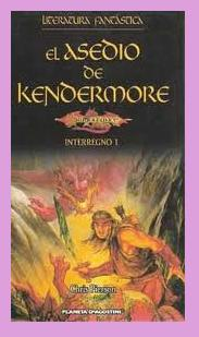 Portada del libro El asedio de Kendermore, de Chris Pierson