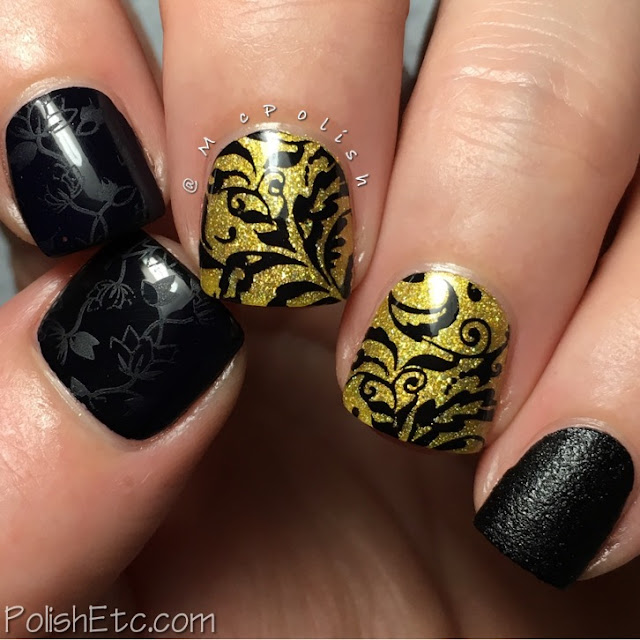 Inspired by Fashion for the #31DC2017Weekly - McPolish - Kit and Rose