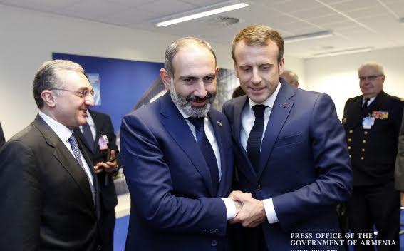 Pashinyan irá a Francia después de una visita a Moscú