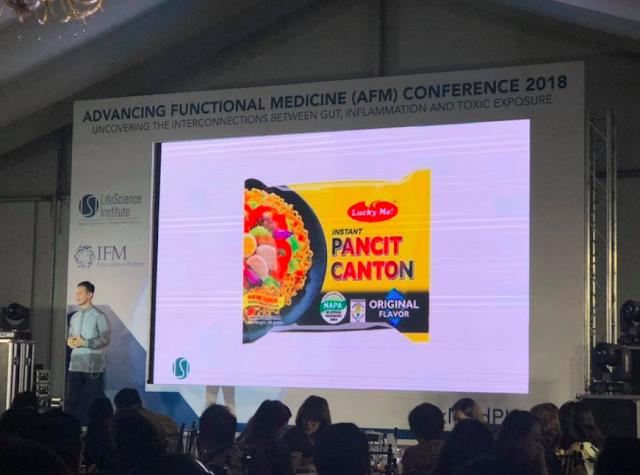 Pancit Canton Causes Kanser/Dr. Gary Sy Facebook