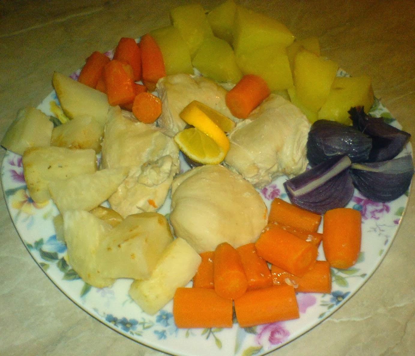 pui cu legume la aburi, retete culinare, retete de mancare, sanatate, nutritie, slabire, diete, regim alimentar, mancaruri la aburi din acrne si legume,