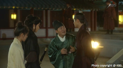 Kim You Jung, Park Bo Gum, Kwak Dong Yeon, Lee Jun Hyeok, Love in the Moonlight, Moonlight Drawn By Clouds, Ep7, 20160912, video 1