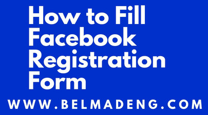 How to Fill Facebook Registration Form