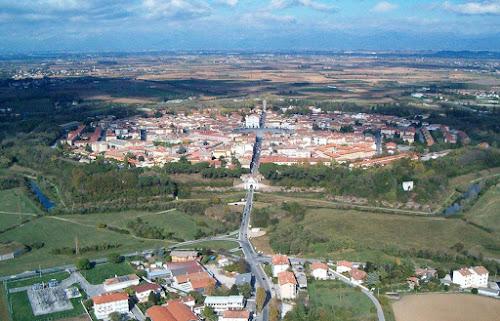 Vista aérea de Palmanova - Itália
