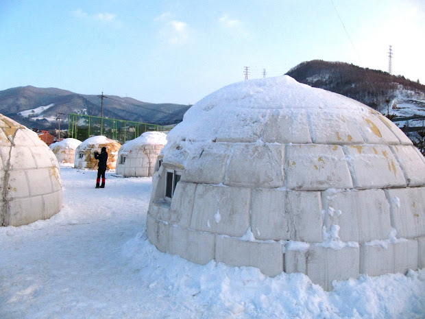 Real Igloo Houses Inside - Year of Clean Water