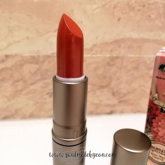 Review; Beauty Cottage's Elegant Impressionist Semi-Matte Lipstick No.09 BYZANTINE
