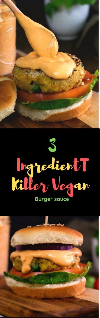 VEGAN BURGER SAUCE #food #Burger