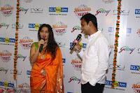 Marath Actrss Urmila Kanitkar Celetes Gudi Padwa in Orange Saree 25.JPG