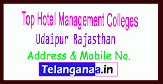 Top Hotel Management Colleges in Udaipur Rajasthan