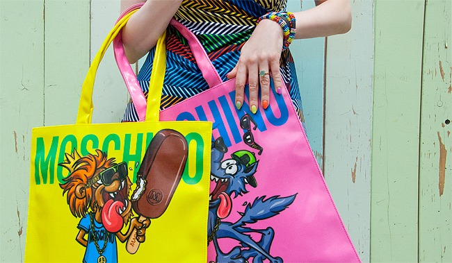 moschino, tote bag, giveaway