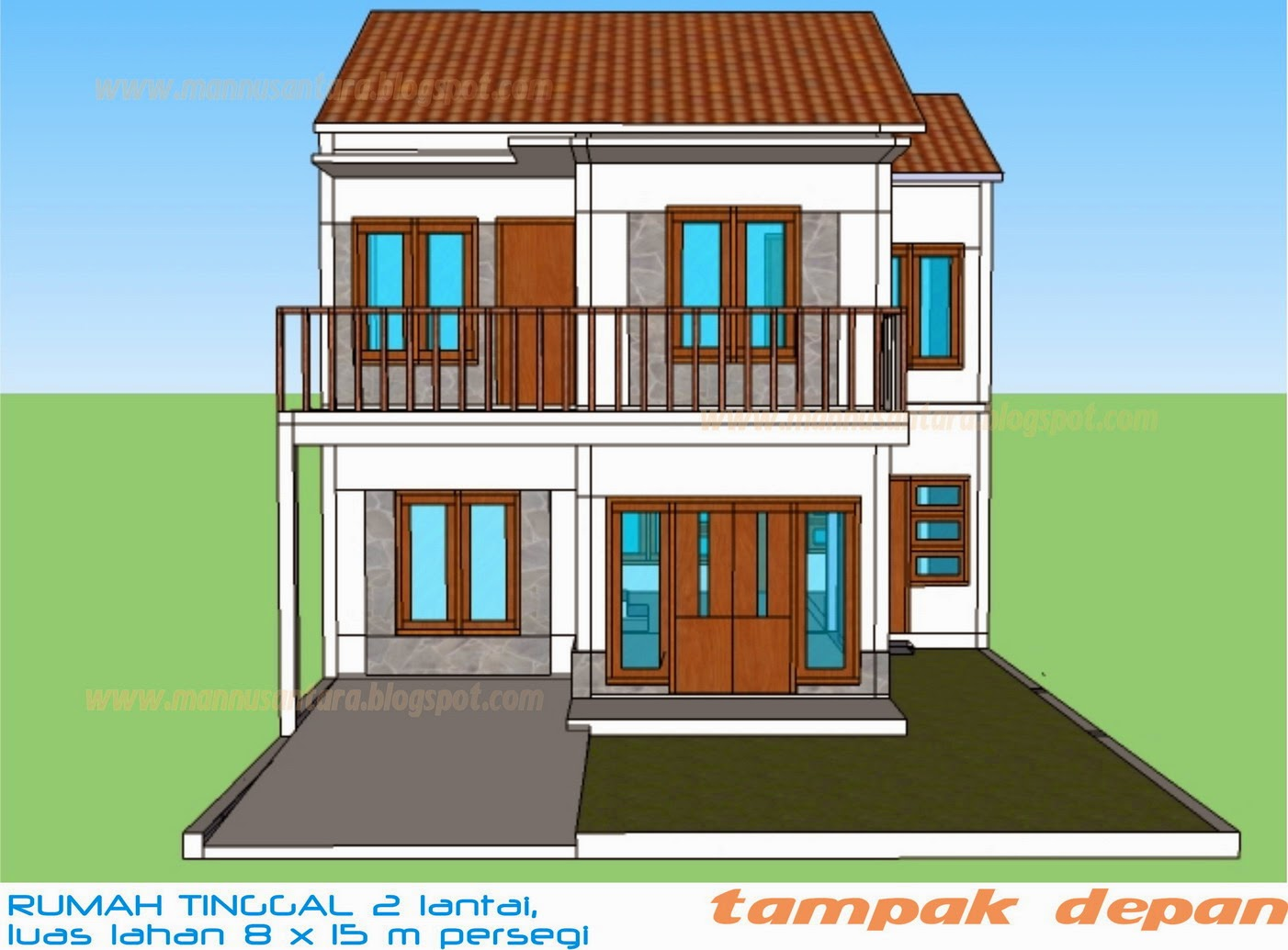 67 Desain Rumah Minimalis 8 X 15 Desain Rumah Minimalis Terbaru