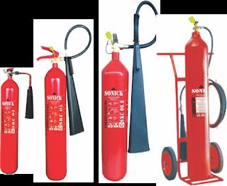 Alat pemadam api | Co2 Carbondioxide
