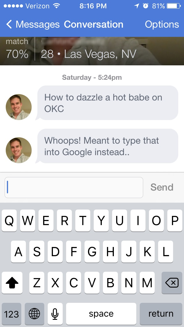 Okcupid people search