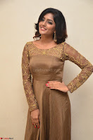 Eesha looks super cute in Beig Anarkali Dress at Maya Mall pre release function ~ Celebrities Exclusive Galleries 029.JPG
