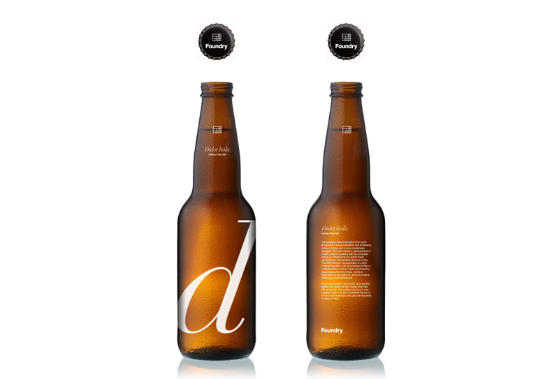 Foundry Cargocollective beer packaging