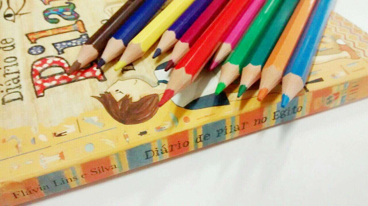 Livro colorido