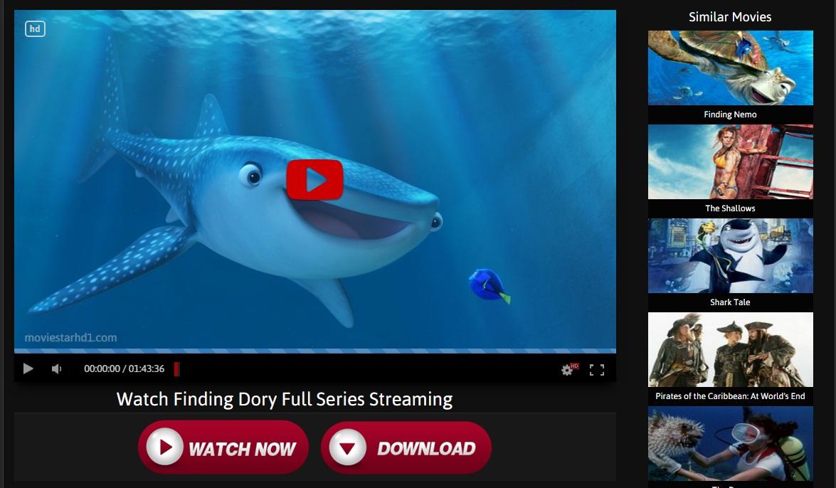 Finding Dory Stream Online
